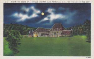 North Carolina Asheville Country Club At Night