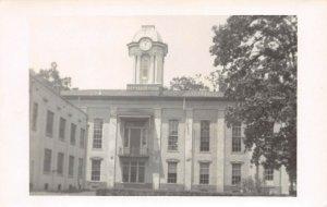 LPSS13 Aberdeen Mississippi Monroe County Court House Postcard RPPC
