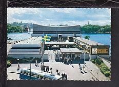 Wasa Dockyard,Stockholm,Sweden Postcard BIN