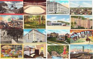 Large Lot of 1000 Linen and Older Vintage US Postcards 1900s-1950s 95% Unused