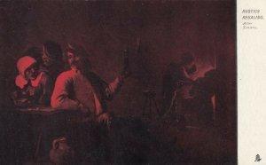 TUCK #914; Rembrandesque, Red Tint, 1901-07; Rustics Regaling