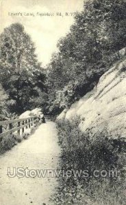 Lover's Lane in Aqueduct Rd, New York