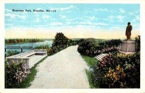Missouri Hannibal View In Riverview Park