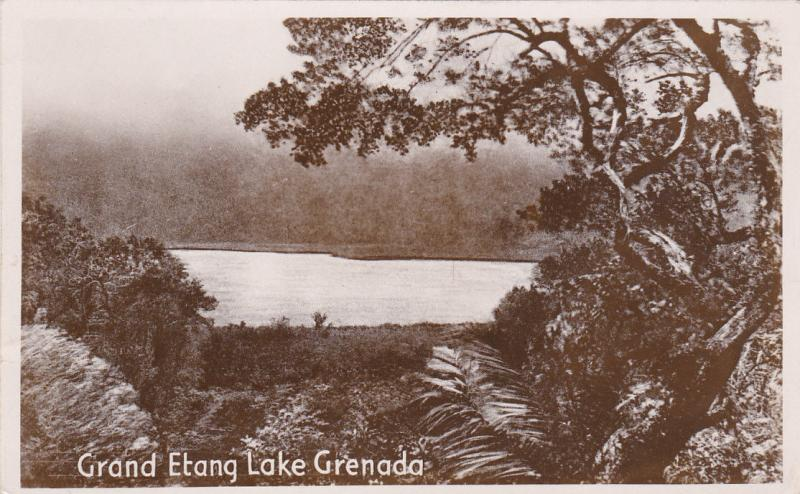 GRENADA , 00-10s; Grand Etang Lake