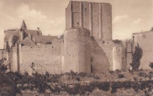 LOCHES, Indre Et Loire, France, 1900-1910's; Ensemble De La Partie Sud-Est Du...