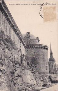 Fraance Fougeres La Grande Courtine et le Tour Raoul 1929
