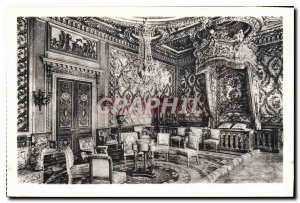 Postcard Old Chateau of Fontainebleau Room Marie Antoinette