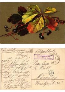 CPA Herbstlaub Meissner & Buch Litho Serie 1862 (730535)
