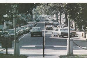 NAZARETH, Pennsylvania , 1940-60s ; Main Street ; South from Center Square