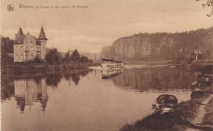 La Meuse Et Les Rochers De Neuviau, Wepion (Namur), Belgium, 1910-1920s