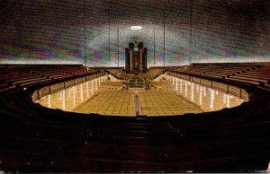 Utah Salt Lake City Interior Great Mormon Tabernacle