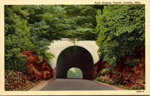Ohio Ironton Park Avenue Tunnel Curteich