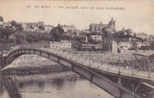LE MANS, Vue partielle, prise du Quai Ledru-Rollin, Sarthe, France, 00-10s