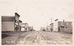 RP: 2nd Avenue (dirt) , DELISLE , Saskatchewan , Canada , 1910s