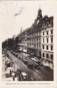 RP; BUENOS AIRES , Argentina , 20-40s; Edificio de Laprensa y Avenida de Mayo