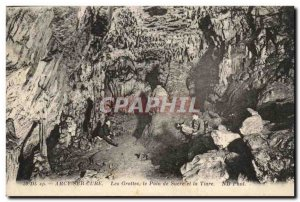 Arcy Sur Cure - The Caves - The Bread and Sugar and the Tiara - Old Postcard