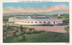 Liberty Heights Swimming Pool Martinsville Virginia