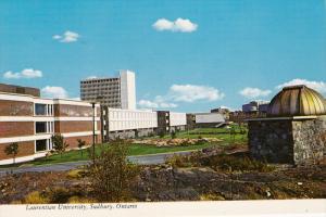 Laurentian University, Sudbury, Ontario, Canada, 50-70s