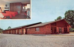 Jamestown Kentucky Lei Hi Lodge Multiview Vintage Postcard K80862