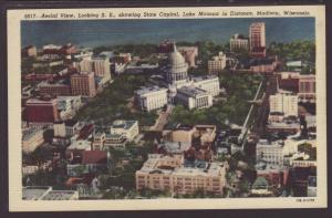 Bird's Eye View,Madison,WI Postcard
