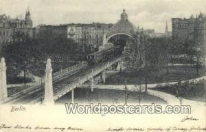 Berlin Germany, Deutschland Postcard Mollendorfplatz  Mollendorfplatz
