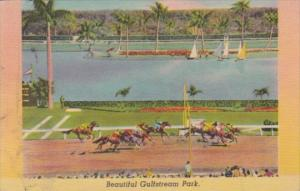 Florida Hallandale Gulfstream Race Track Horse Racing 1949