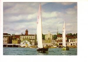 Sailboat, Waterfront, Kempenfelt Bay, Barrie, Ontario, WJL Gibbons
