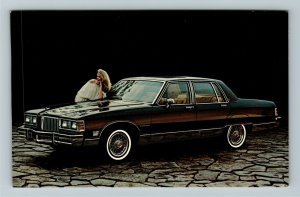 1981 Pontiac Bonneville Brougham Sedan Chrome Postcard