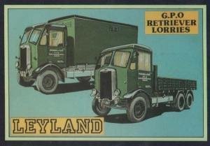 Royal Mail GPO Retriever Van Vans LeylandTransportation Vehicle Postcard