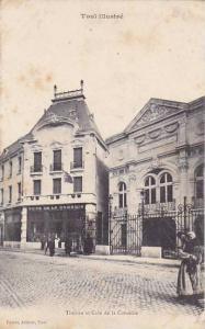 France Toul Theatre et Cafe de la Comedie 1906
