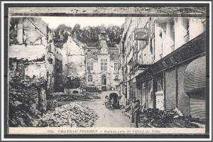 France - Battle of Chateau-Thierry WWI Second Battle of The Marne - [FG-002]