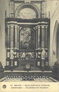Maitre Autel de la Cathedrale Anvers, Belgium Unused