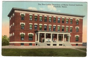 Pittsfield, Maine, The New Ladies Dormitory of Maine Central Institute