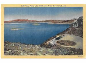 Lake Mead View Point & Power Lines Lake Mead Nevada Recreational