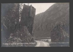 114726 Norge NORWAY Parti af veien til Laatefossen Odda Old PC