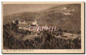 Old Postcard Mont Sainte Odile view taken by plane
