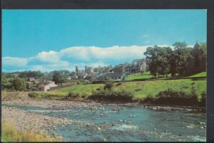 Scotland Postcard - Selkirk From The River Ettrick   RS6940