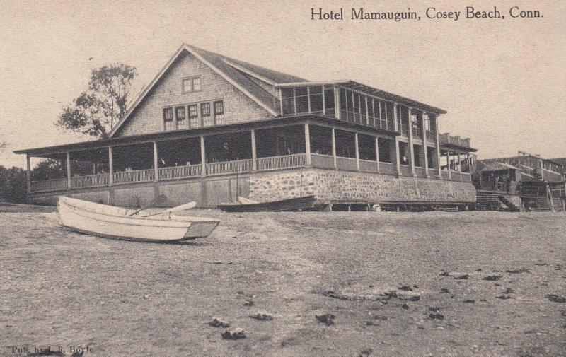 COSEY BEACH , Conn. , 00-10s ; Hotel Mamauguin