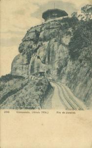 brazil, RIO DE JANEIRO, Corcovado, Railway Train (1899)