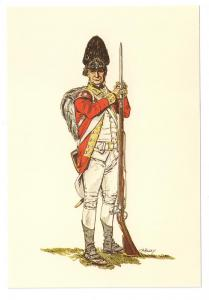 British Grenadier 1779 Tenth Regiment of Foot