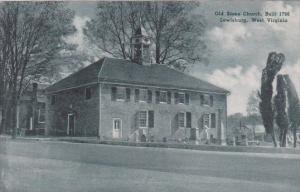 West Virginia Lewisburg Old Stone Church Built 1796 Albertype