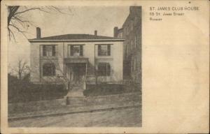 Rosbury MA St. James Club House c1910 Postcard