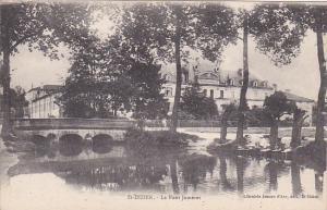 Le Pont Jumeret, Saint-Dizier (Haute-Marne), France, 1900-1910s