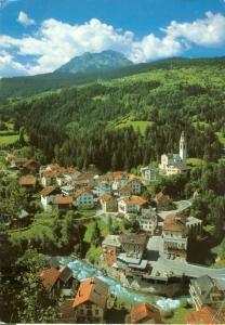 Switzerland, Suisse, Tiefencastel, 1982 used Postcard