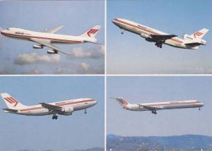 4 Views, Boeing 747-200C, DC-10-30 CF, Airbus A310-203, DC-9-82, Passenger Ai...