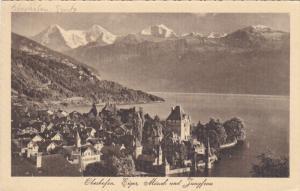 Eiger, Monch Und Jungfrau, OBERHOFEN (Bern), Switzerland, 1910-1920s