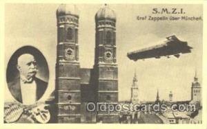 Reproduction S.M.Z.I Zeppelin, Zeppelins Postcard Postcards  Reproduction S...