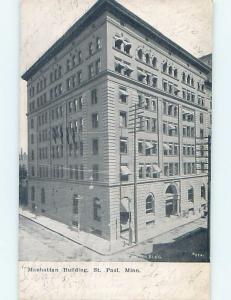 Divided-Back BUILDING St. Paul Minnesota MN ho2476