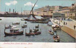 Malta Landing Place Grand Harbour