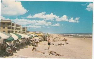 Beach Scene at Ocean City, Maryland, unused Postcard